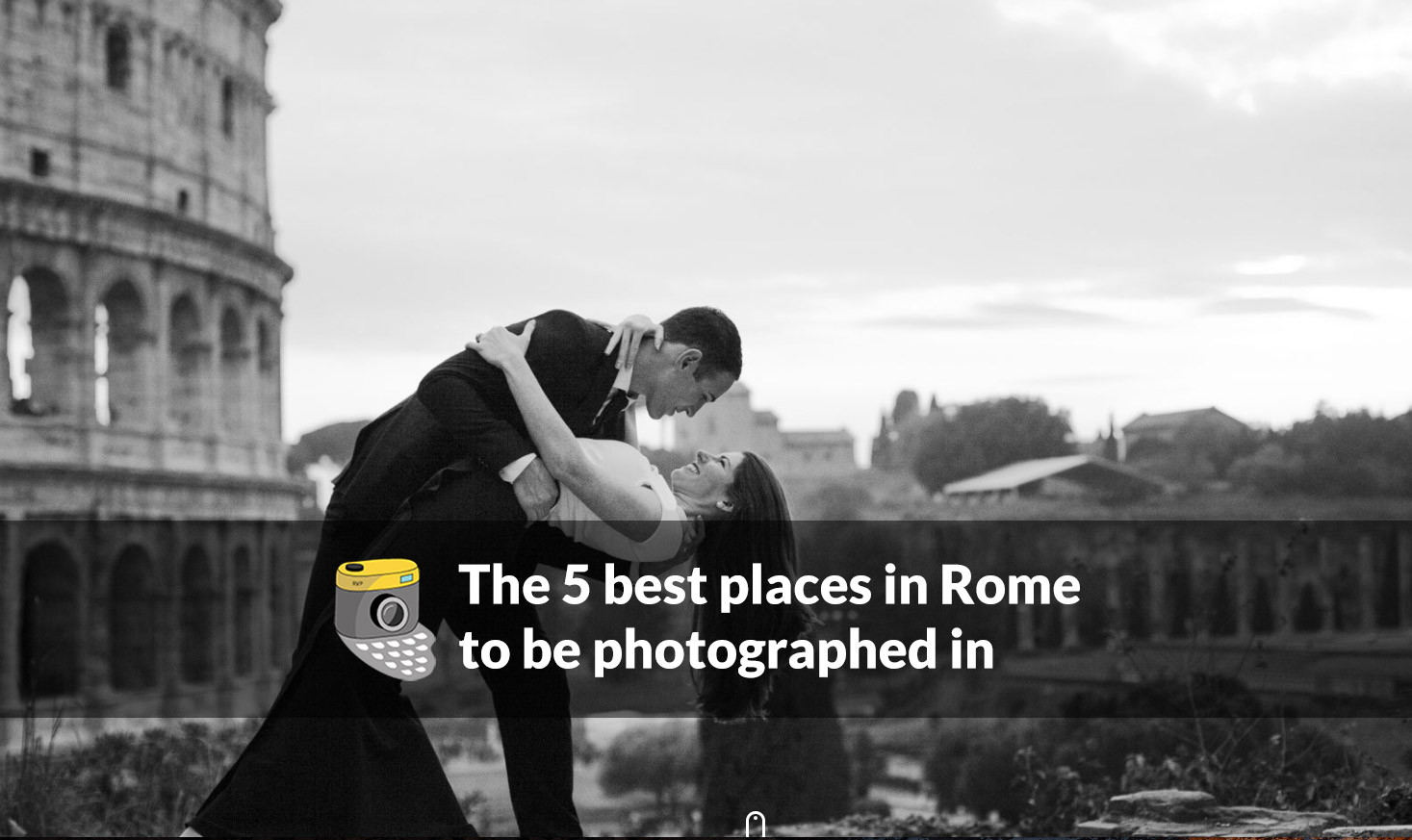 The 5 best places in Rome to be photographed in