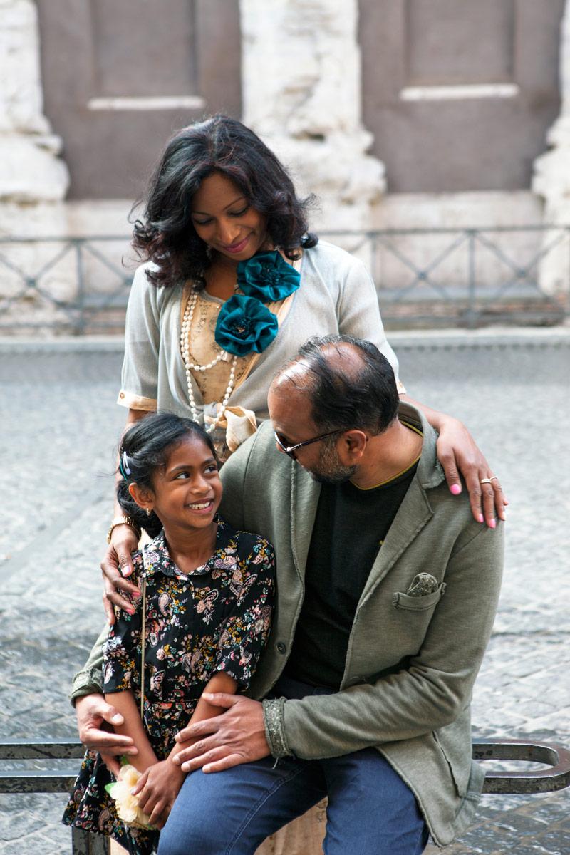 Animesh, Veena & Akshadha
