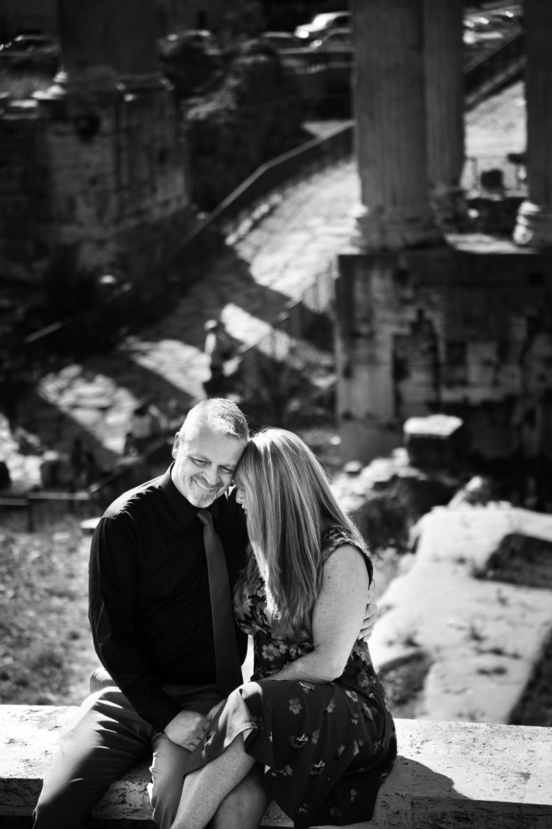 Capitoline Hill Engagement
